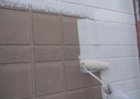 16−2.外壁下塗り(密着性を高めます)
