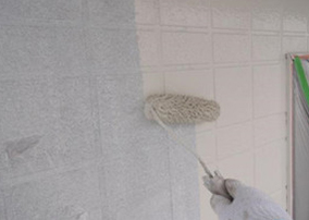 17−2.外壁中塗り(上塗り材2回目)