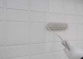 18−2.外壁上塗り(上塗り材2回目)
